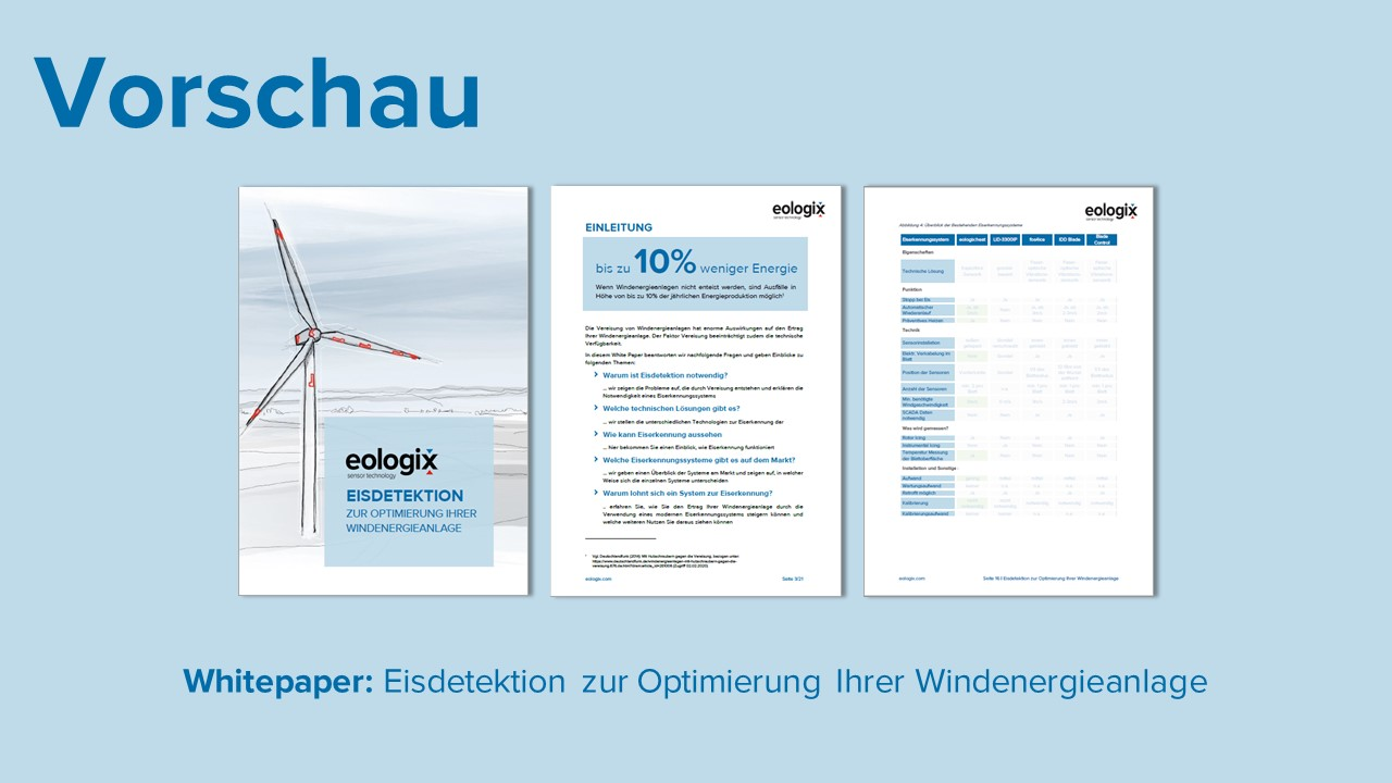 Whitepaper Eisdetektion