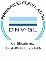 DNV-GL Zertifikat