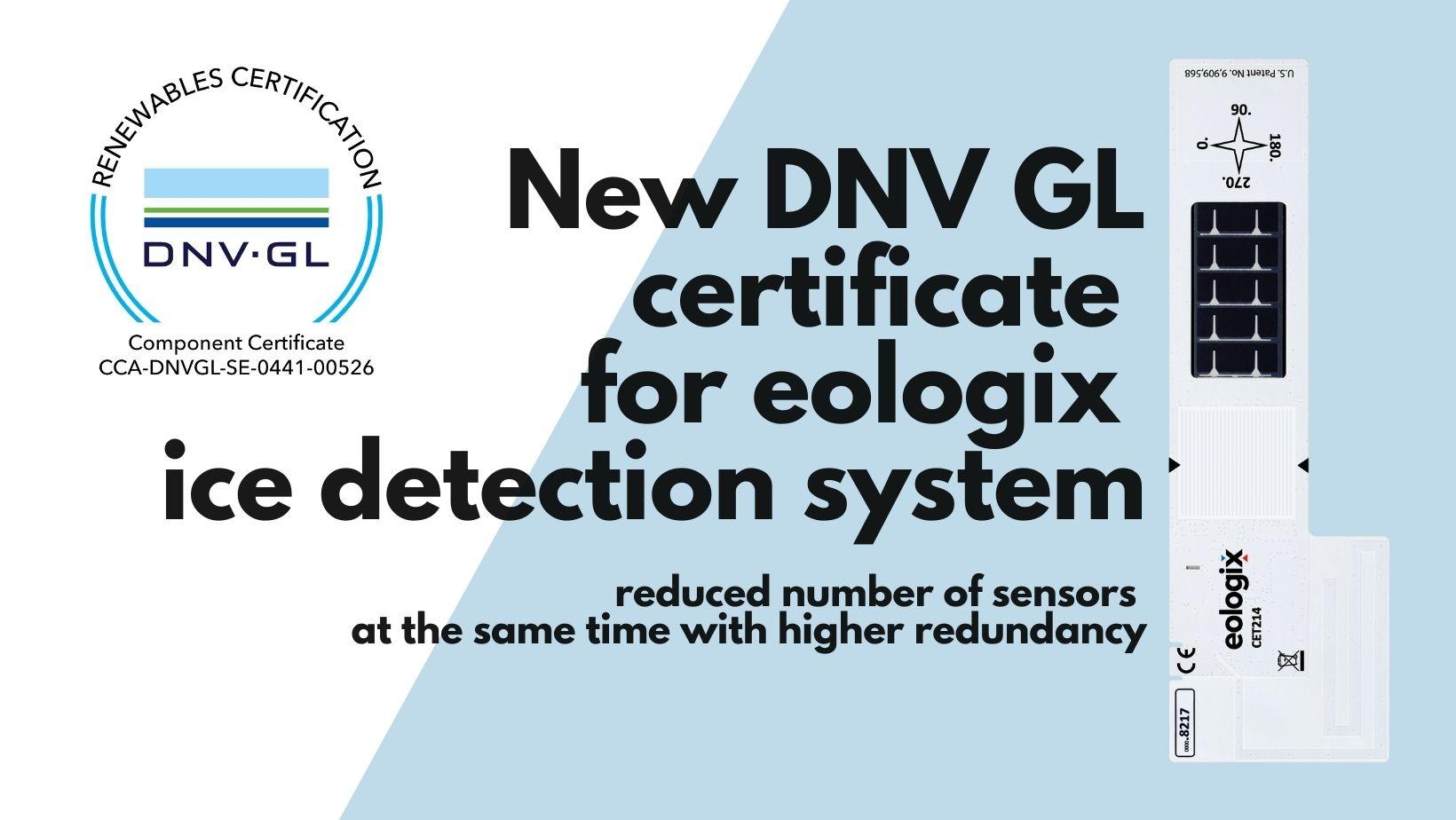 new DNV GL certificate